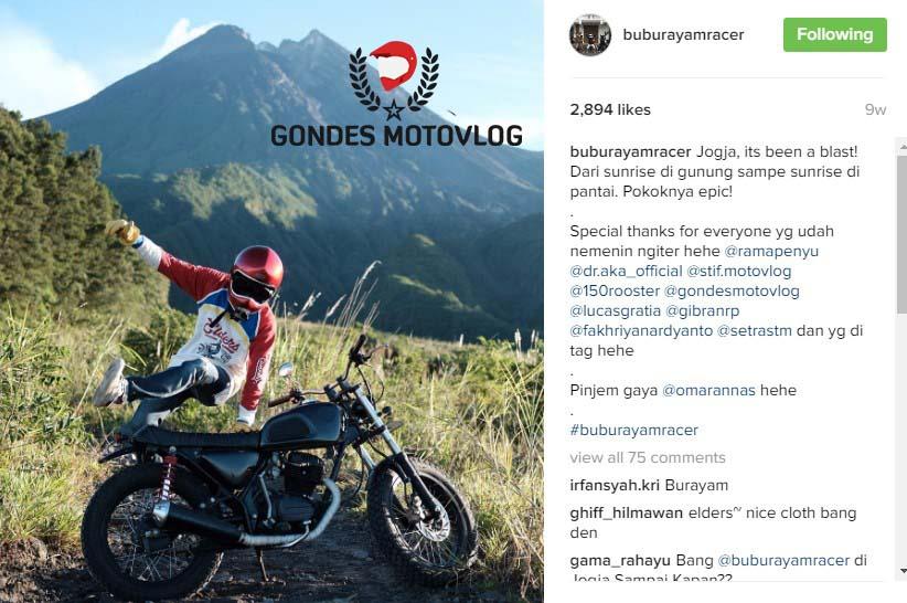 Den Dimas Motovlogger Indonesia