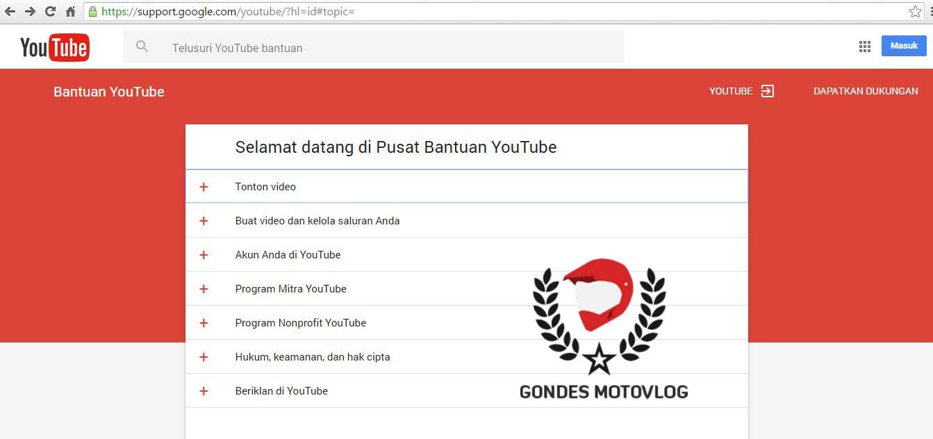 Panduan Youtube Lengkap Bahasa Indonesia