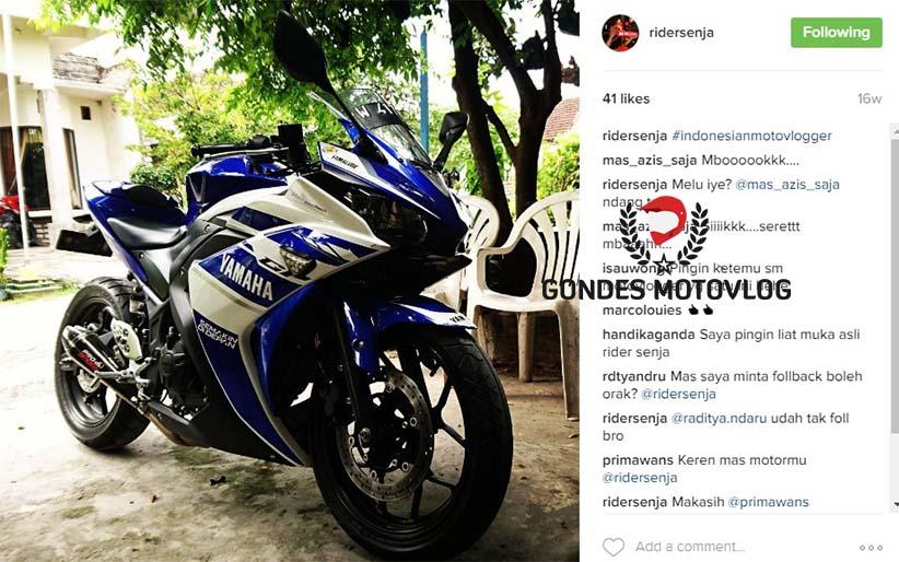 Rider Senja Motovlogger Indonesia