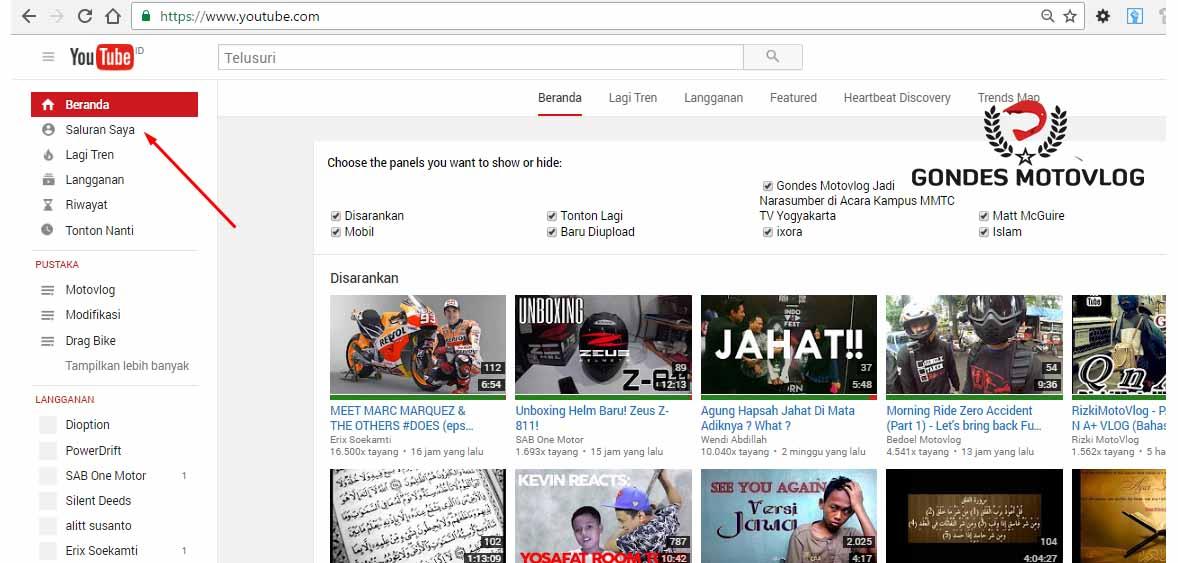 saluran-youtube-gondes-motovlog