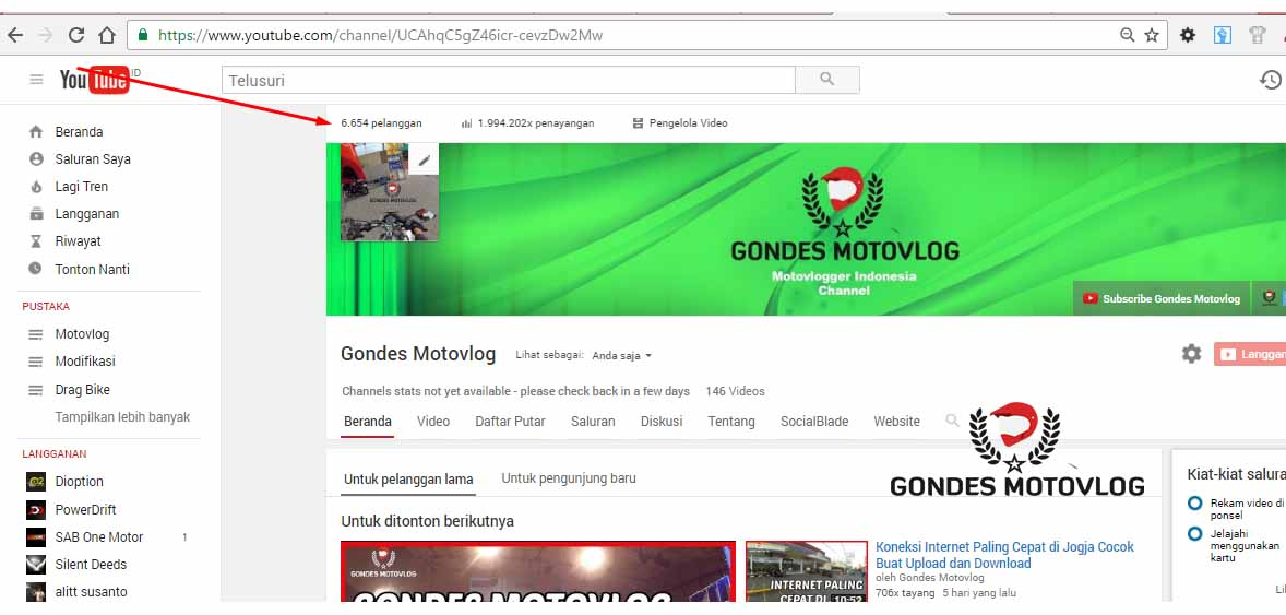 subscriber-channel-youtube-gondes-motovlog