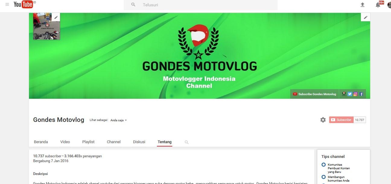 channel-gondes-motovlog-terbaru